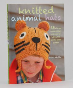 Another great find on #zulily! Knitted Animal Hats Paperback #zulilyfinds.  $13.99