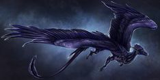 Zaereph by Isvoc feathered dragon griffon flying mount riding feathers wings…
