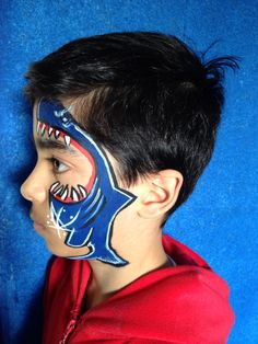 My face paint for my son;)