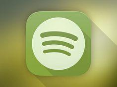 Spotify Ios7 #iOS7 #iOS