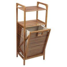 big bamboo regal mit w schekorb w schek rbe regal und badezimmer. Black Bedroom Furniture Sets. Home Design Ideas
