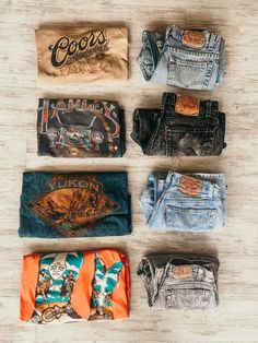 Vintage Graphic Tees, Vintage Levis, Vintage Men, Vintage Fashion, Cute Outfits For School, Cute Summer Outfits, Western Style, Western Wear, Boyish Style