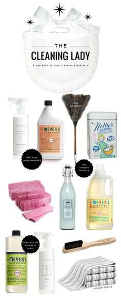 How to rightfully get your New Year cleanin' on -- via Mrs. Lilien