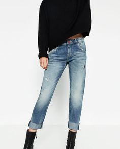 Image 2 of RELAXED FIT JEANS from Zara