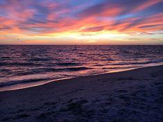 Beach, Sunset, Beach Sunset, Colors, Clouds, Sky