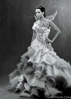 Catching Fire... I know it's cliche.... But honestly, I would love something similar to this for my wedding dress!