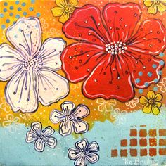 Acrylic painting on canvas by robruhn on Etsy, $80.00
