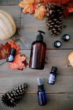 9 Uplifting Fall Essential Oil Blends and how to use them from top US lifestyle blogger Tabitha Blue of Fresh Mommy Blog