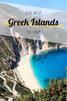 A guide to the best greek islands to visit in 2020. Greece has a choice of over 200 islands - this article explains which ones you need to visit and why Top Greek Islands, Greek Islands To Visit, Greek Island Hopping, Greece Islands, Travel Around Europe, Europe Travel Guide, Travel Guides, Ireland Travel, Greece Travel