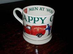 Emma Bridgewater Men At Work Christmas Mug