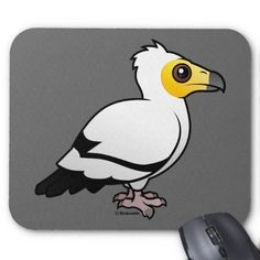 Egyptian Vulture Mousepad