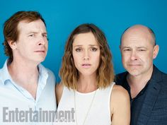 Comic-Con 2015 Star Portraits: Day 3   Rob Huebel, Erinn Hayes, Rob Corddry, 'Children's Hospital'   EW.com