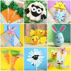 Ready for Easter? We have a ton of awesome Easter crafts for kids! You'll find a variety of craft ideas, from cool Easter origami to printable crafts with templates. From easy crafts preschoolers and kindergarteners will enjoy to more demanding projects for older kids. We've got all the major themes covered – lots of cute …