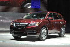Acura Debuts 2014 MDX in New York #Acura #MDX