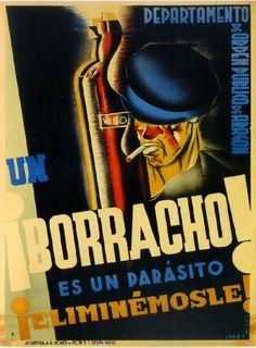 Interesting Spanish Civil War poster