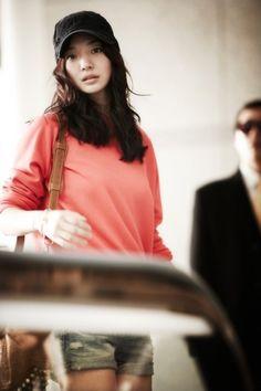 Shin Min Ah Airport Fashion