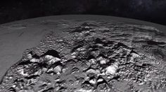 This new NASA video lets you fly over Pluto's massive ice mountains