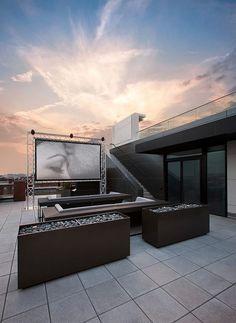 Al #cine en casa  Vive tu propia experiencia hollywoodiense #inspiración #deco #home
