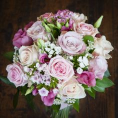 Roses, sweet William and lizzie - Lily Blossom