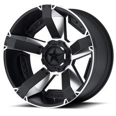 XD Series Rockstar 2 Machined Black Wheels For Sale & XD Series Rockstar 2 Rims And Tires Truck Rims, Truck Wheels, Chevy Trucks, 4x4 Rims, Convertible, Off Road Wheels, Volkswagen, Rims And Tires, Wheels And Tires