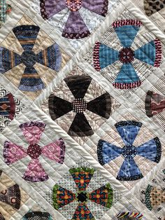 Steampunk quilt. Pattern by Jen Kingwell. Fabric is Farmhouse by ... : steampunk quilt pattern - Adamdwight.com