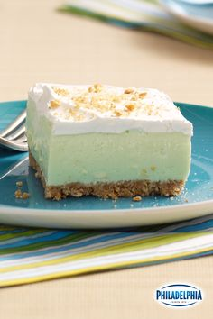 Winter blues got you down? Leave the cold outside and bring a taste of the tropics to your kitchen with these silky Key Lime Cloud Squares.