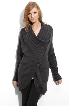 Haute Hippie Chunky Wool Cardigan $375