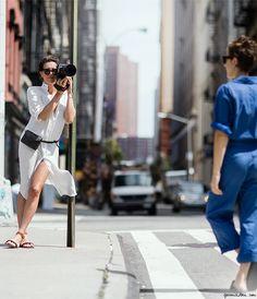 Women At Work, Fashion Blogger, Street Style, Chic At Work, Chic Comfort, City Chic / Garance Doré