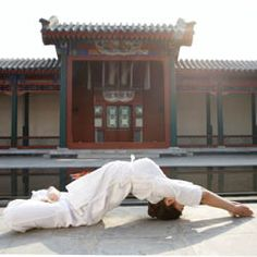 Millions of Chinese are embracing the ancient Indian practice of yoga—or at least its American version.