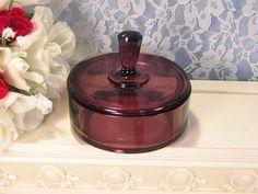 Antique New Martinsville Purple Amethyst Elegant by havetohaveit