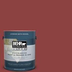 BEHR Premium Plus Ultra 1-Gal. #PPU2-3 Allure Satin Enamel Interior Paint