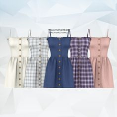 Vacation Dress for The Sims 4 Source by outfits for teens Sims 4 Mods Clothes, Sims 4 Clothing, Sims Mods, Vêtement Harris Tweed, The Sims 4 Skin, Sims 4 Dresses, Teen Dresses, Midi Dresses, Club Dresses