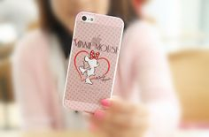 Cartoon Style Painted iPhone 5/5S Clear Slim Hard Cell by ATHiNGZ, $8.99