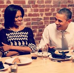 The Obama's on her 50th birthday!