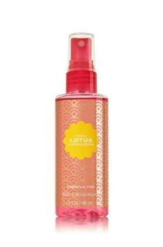 Bath and Body Works 'Tokyo Lotus and Apple Blossom' Travel Size Fragrance Mist~ 3 Fl. Oz. >>> Quickly view this special  product, click the image : Travel Perfume and fragrance