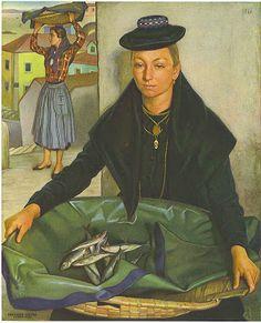 "Eduardo Malta: ""Rodilha"" by Eduardo Malta (1900 – 1967, Portuguese)"