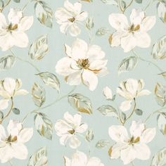 possibly good fabric for mbath~~Siricusa Curtain Fabric Printed Curtains, Blue Curtains, Duck Egg Blue, Blue China, Fabric Samples, Curtain Fabric, Blue Fabric, Pattern Wallpaper, Printing On Fabric
