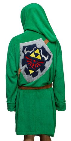 Legend of Zelda Link Robe - Exclusive Additional Image