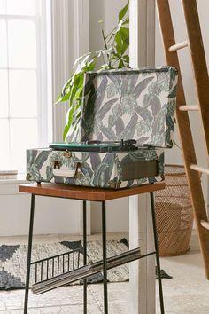 Crosley Palm Print Keepsake Record Player - Urban Outfitters