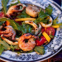 Grilled Thai Seafood Salad