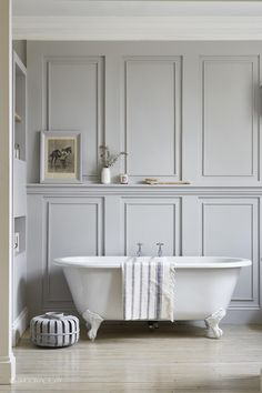 Wall Paneling Home Depot Industrial Chic Style With Beautiful Architectural Details White Painted Exposed Brick And Wood Panelling Waterproof - Wood Wall Planks Bathroom Paneling Wooden Bad Inspiration, Bathroom Inspiration, Bathroom Ideas, Bathroom Hacks, Bathroom Pictures, Bathroom Inspo, Bathroom Organization, Bathroom Designs, Organization Ideas