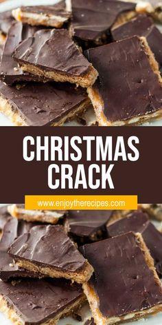 Christmas Crack - #desserts #easyrecipe #recipes #crack #christmas