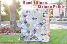 Road Fifteen Sixteen Patch