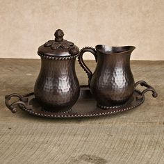 Gallon Coffee Carafe in Antique Copper by The GG Collection - contemporary - serveware - atlanta - Iron Accents