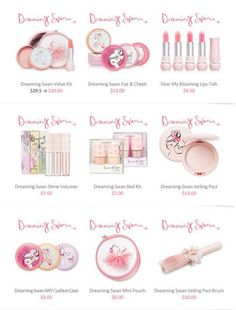 The Lipstick Addict: Giveaway | Etude House Dreaming Swan Collection
