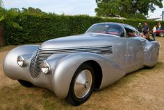 My car, if I lived in 1938....the Hispano-Suiza H6C Xenia. This car has more style than Xenia, OH.