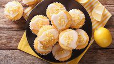 Amazingly Delicious Greek Yogurt Lemon Muffins with Vanilla - 31 Daily Sweet Potato Gnocchi, Sweet Potato Pancakes, Mashed Sweet Potatoes, Muffins Topping, Sweet Potato Brownies, Brunch, Lemon Muffins, Lemon Cupcakes, Peeling Potatoes