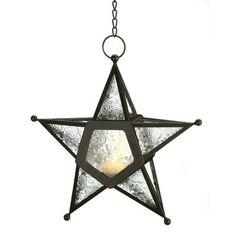 Bungalow Rose Sonya Clear Star Candle Lantern | AllModern