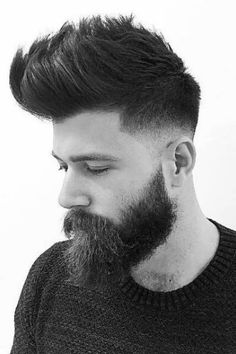 Add some unique character to your cut without being too flashy about it. Like the high fade, the low fade will still give you considerably sharp looking sides.A step above the classic and a notch below the high, meet the low fade. Cool Hairstyles For Men, Haircuts For Men, Wavy Hairstyles, Wedding Hairstyles, Hairstyles Videos, Hipster Hairstyles Men, Stylish Mens Haircuts, Mens Hairstyles With Beard, Modern Haircuts