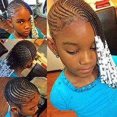 Lemonade Braids For Kids Picture 33 lemonade braids trending styles and how to rock them in 2020 Lemonade Braids For Kids. Here is Lemonade Braids For Kids Picture for you. Lemonade Braids For Kids 33 lemonade braids trending styles and how to roc. Little Girl Braids, Black Girl Braids, Braids For Kids, Braids For Black Hair, Girls Braids, Side Braids, Box Braids, Lil Girl Hairstyles, Natural Hairstyles For Kids